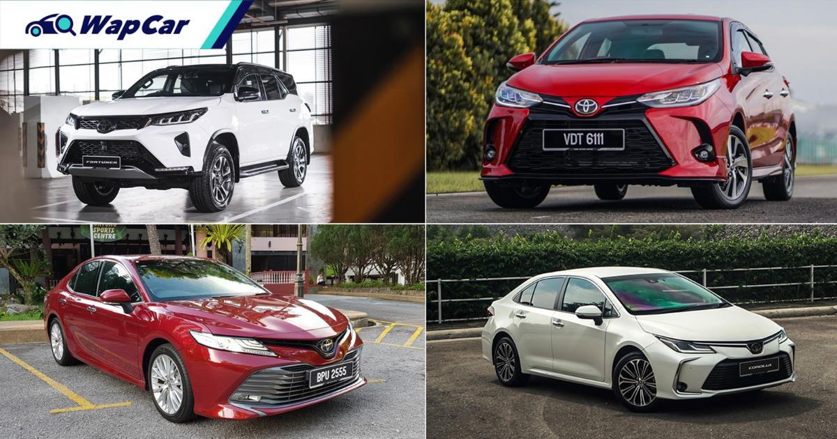 After SST exemption ends, how much will prices of Toyota cars increase in Malaysia? 01