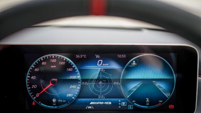 2019 Mercedes-Benz AMG A-Class A35 Interior 004