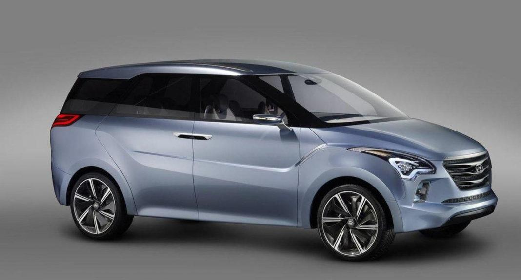Hyundai compact MPV rendering