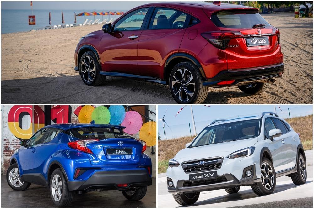 Honda HR-V vs Subaru XV vs Toyota C-HR vs Mazda CX-3: Which is best for you? 01
