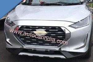 Spied! 2021 Nissan Magnite production car testing on road