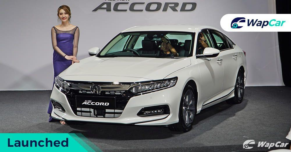 All-new 2020 Honda Accord launched in Malaysia, 201 PS 1.5L Turbo, most powerful D-sedan, from RM 186k 01