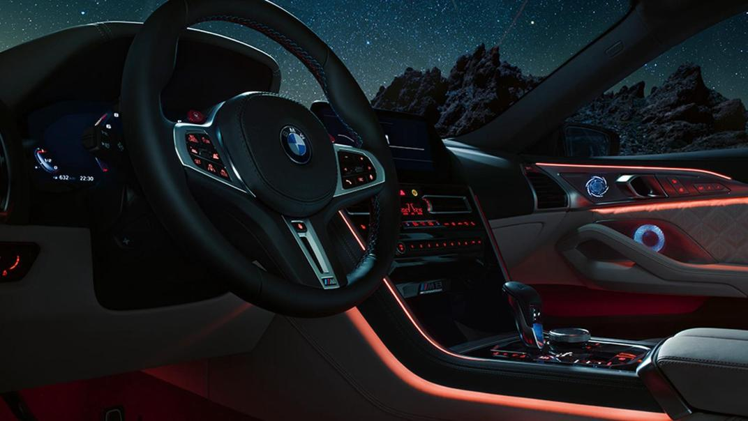 2020 BMW M850i xDrive Gran Coupe Interior 012