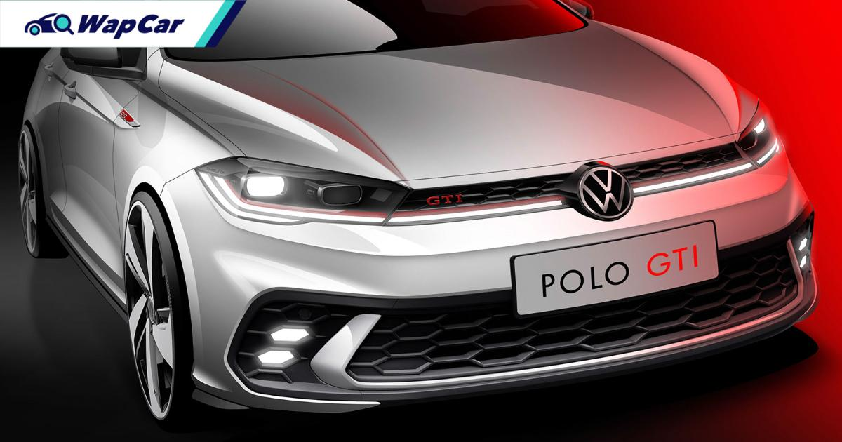 Facelifted Mk6 VW Polo GTI teased!