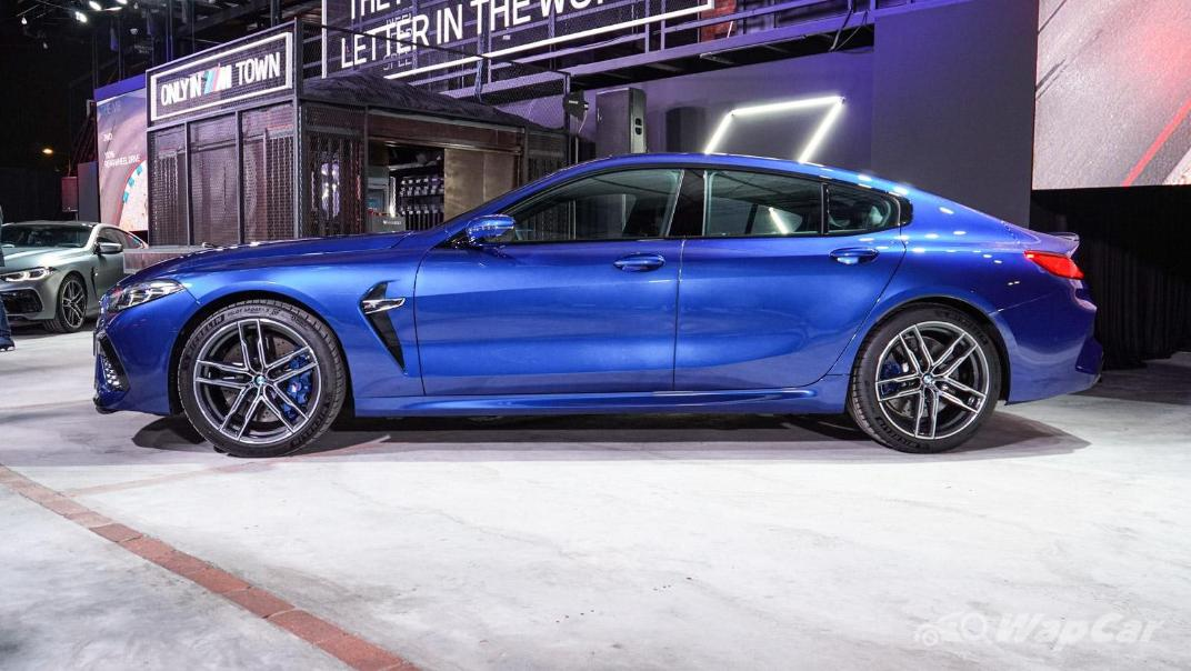 2020 BMW M850i xDrive Gran Coupe Exterior 004