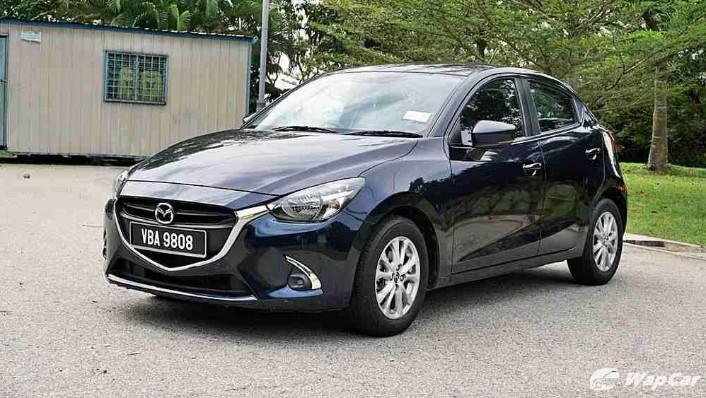 2018 Mazda 2 Hatchback 1.5 Hatchback GVC Mid-spec Exterior 001