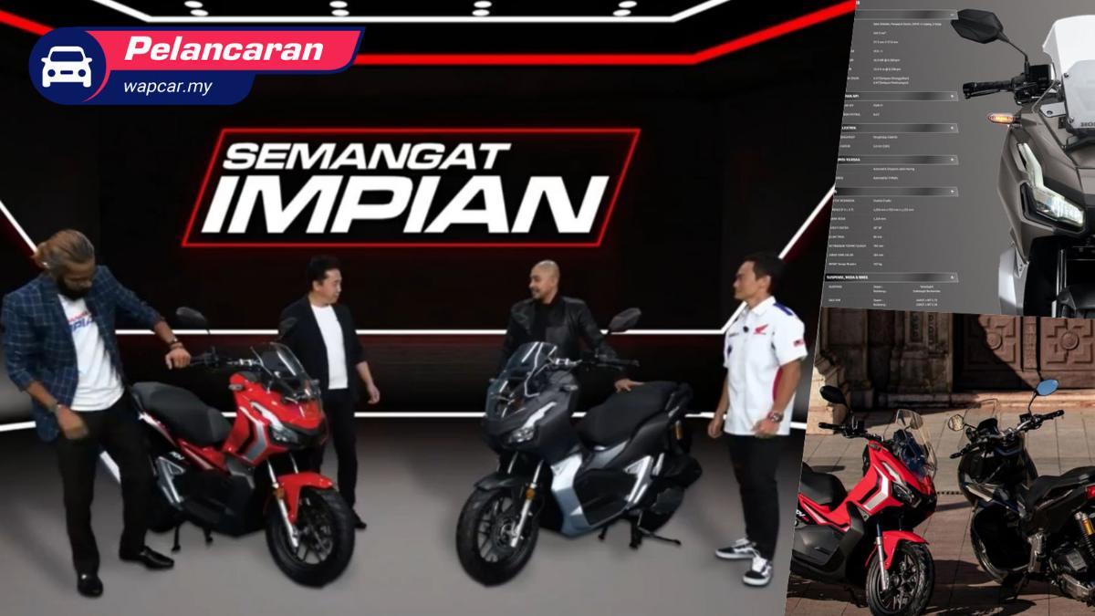 Honda ADV 150 kini di Malaysia, harga RM11,999 01