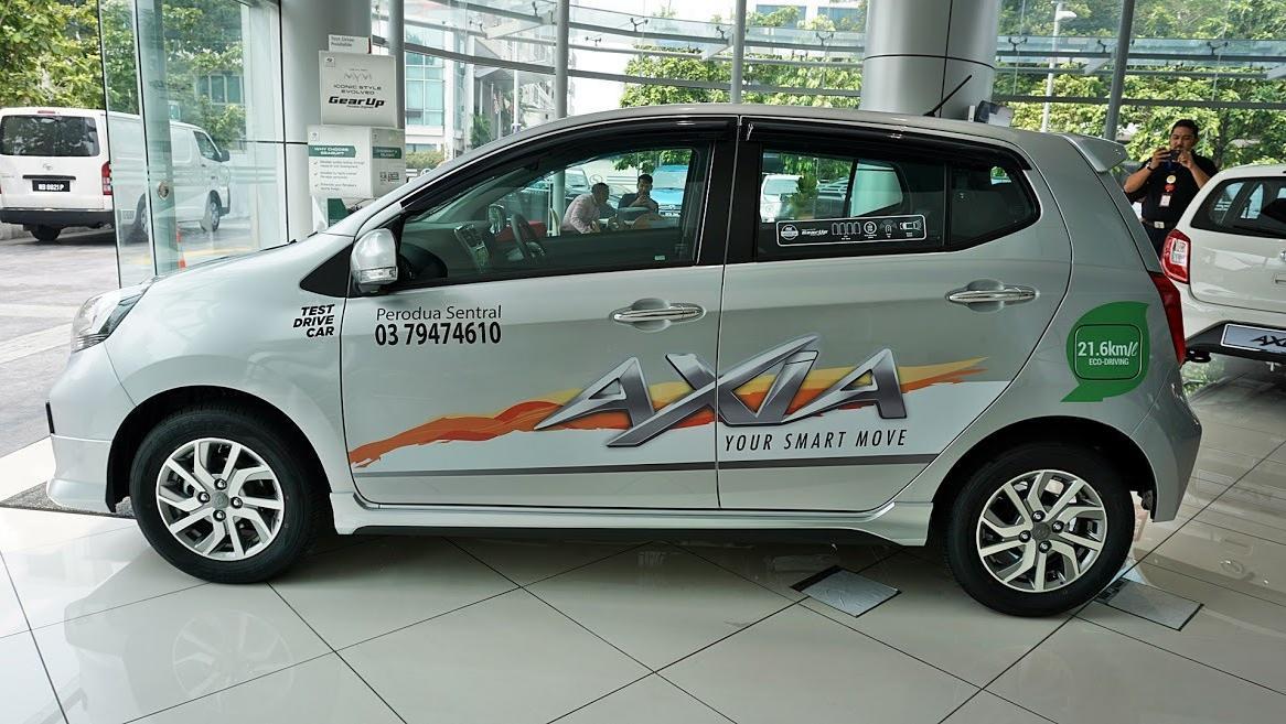 2019 Perodua Axia AV 1.0 AT Exterior 038