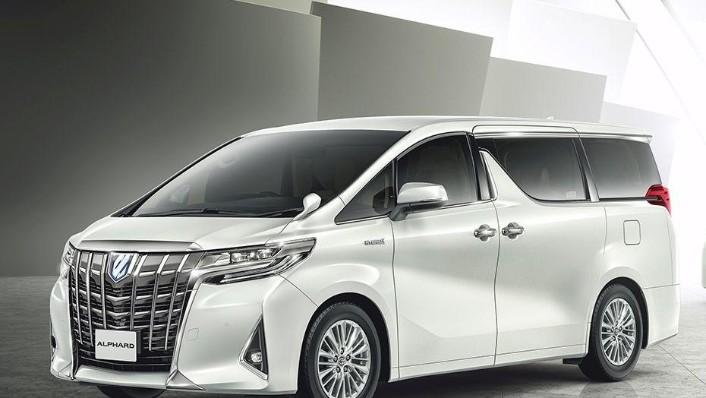 Toyota Alphard (2018) Exterior 001