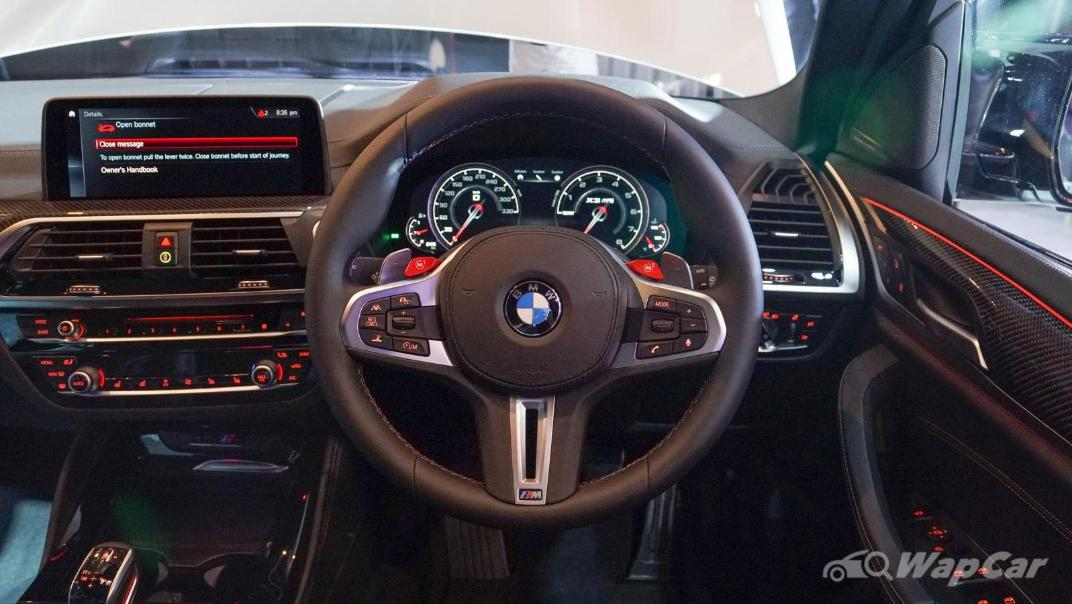 2020 BMW X3 M Competition Interior 002