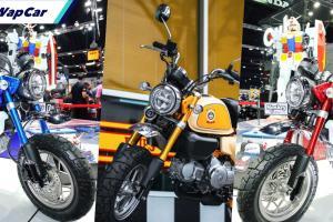 Honda Monkey edisi istimewa di Thailand. Menarik, unik!