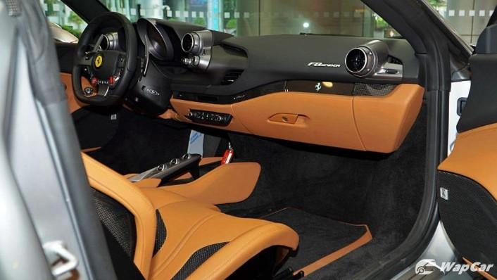 2020 Ferrari F8 Spider  Interior 003