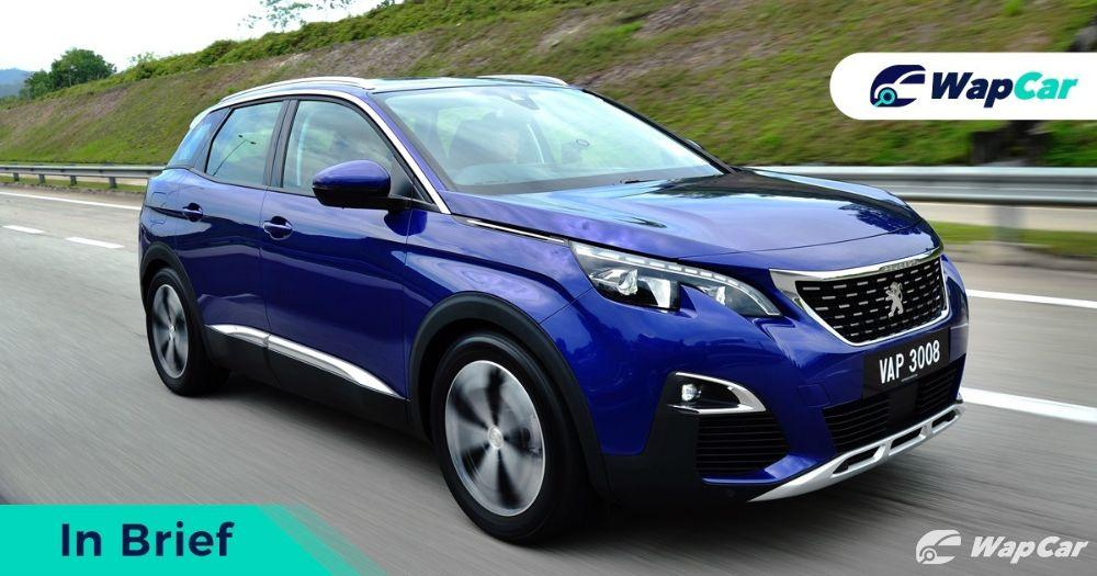 2019 Peugeot 3008 front view