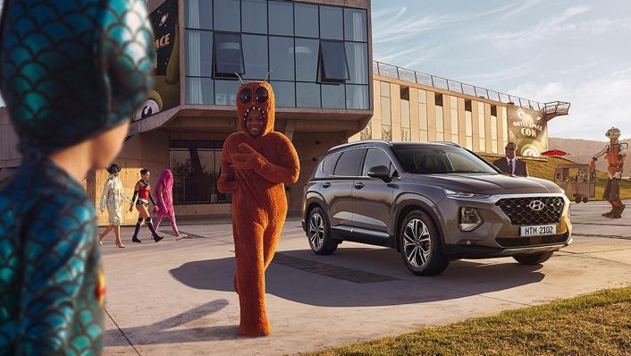 Hyundai Santa Fe (2019) Exterior 006