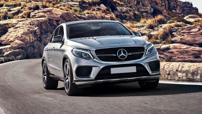 2018 Mercedes-Benz GLE Coupe GLE 400 4Matic Coupe AMG Line Exterior 005