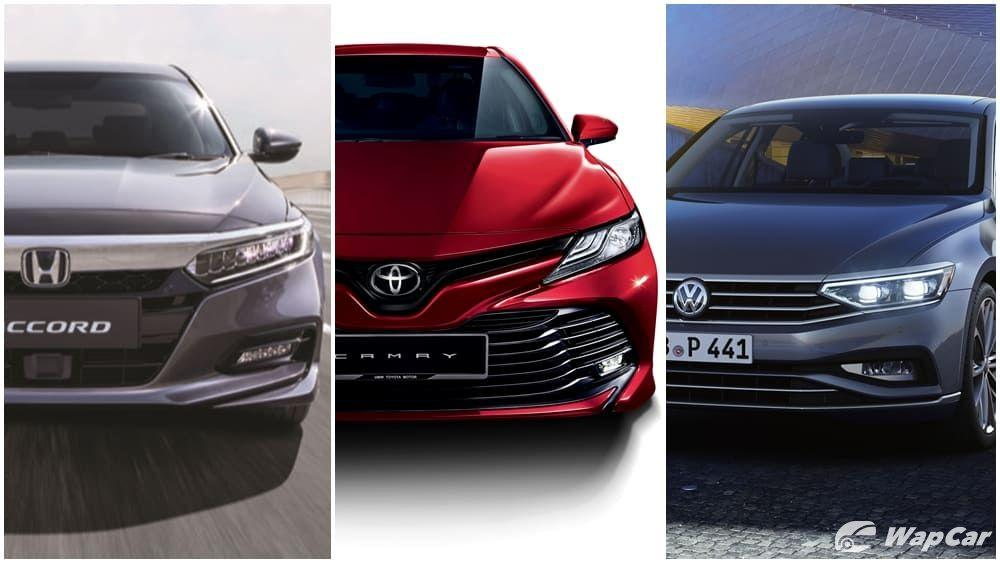 Honda Accord vs Toyota Camry vs VW Passat – Which is best for you? 01