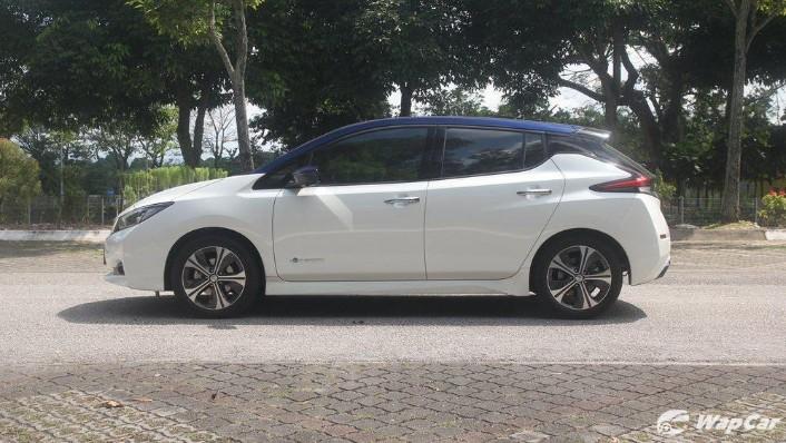 2019 Nissan Leaf Exterior 009