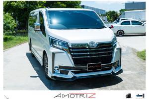 Toyota GranAce dengan kit badan Amotriz - abang besar Alphard & Vellfire!
