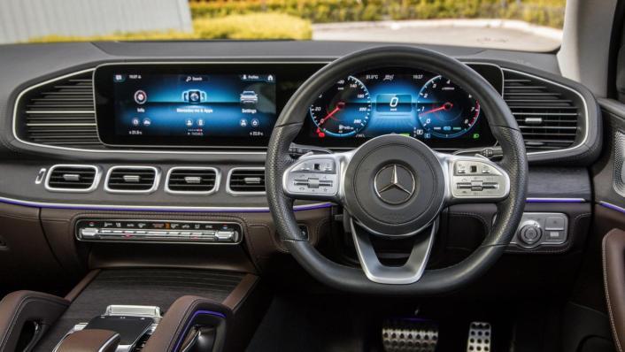 2020 Mercedes-Benz GLS 450 4Matic Interior 003