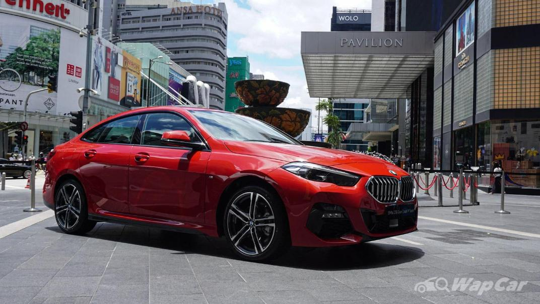 2020 BMW 2 Series 218i Gran Coupe Exterior 004