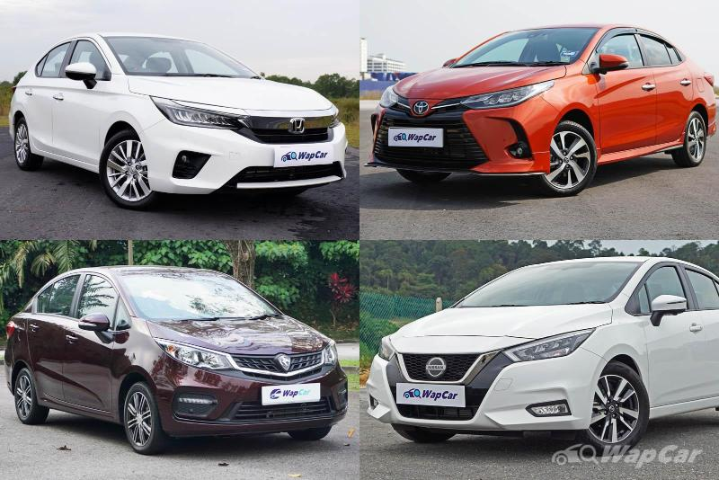 Ratings: Which is the most spacious? Vios, City, Almera, or Persona? 02