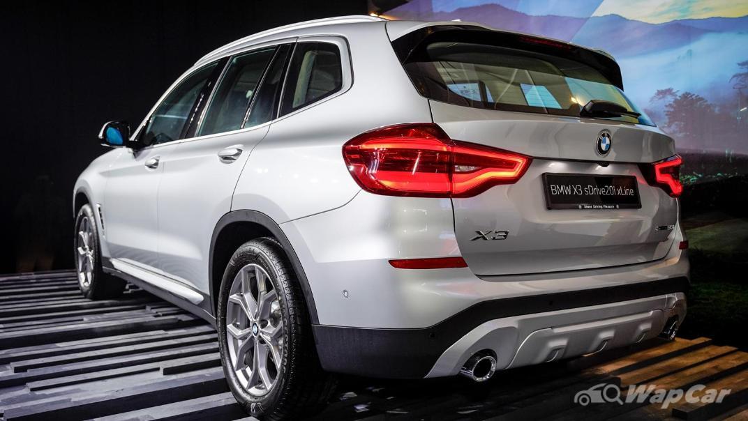 2021 BMW X3 sDrive20i Exterior 006