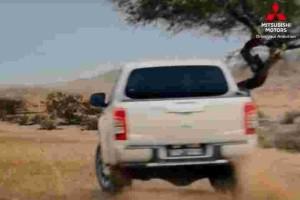 Dakar Rally legend Hiroshi Masuoka was in this Mitsubishi Triton commercial for Malaysia