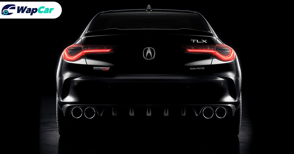 All-new 2021 Acura TLX teased, a sportier Honda Accord with a 3.0L turbo V6 01