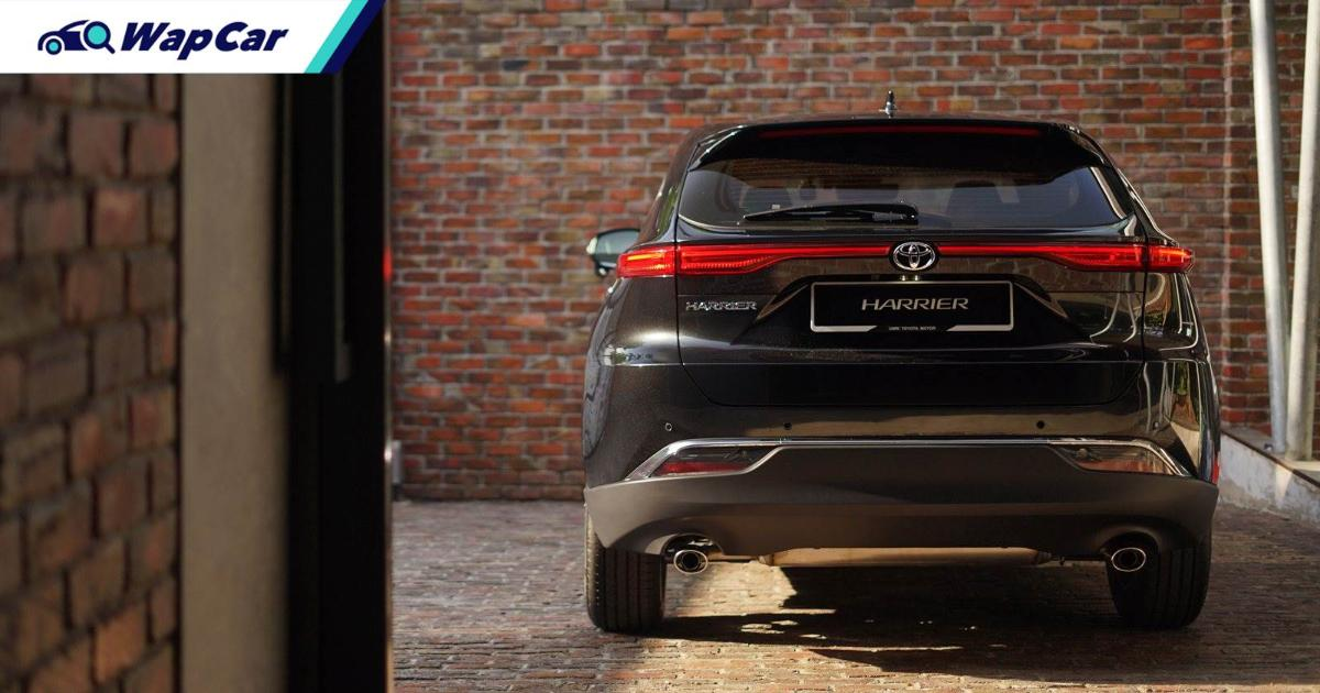No more 231 PS turbocharged engine for all-new 2021 Toyota Harrier, this is why 01