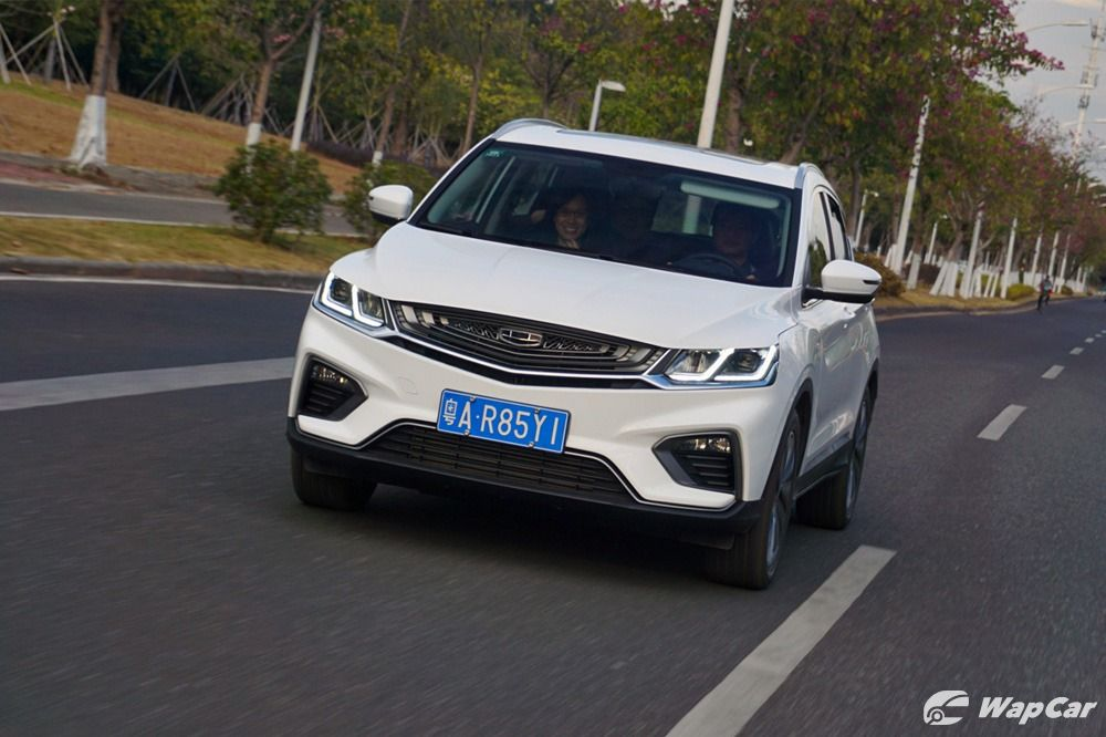 2020 Geely Binyue Proton X50 Review