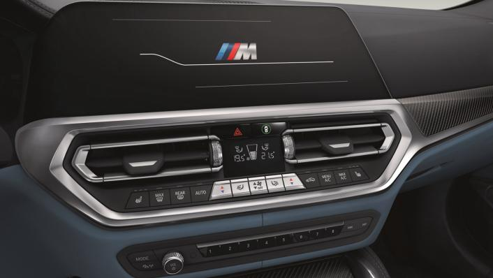 2021 BMW M4 Competition Coupe Interior 003