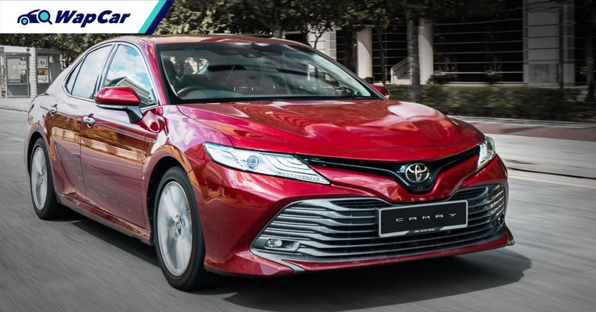 Toyota Camry narrowly beats Honda Accord's sales in Thailand, but it's not so straightforward 01