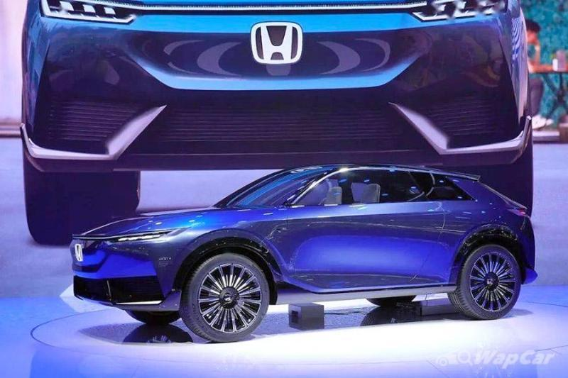 Honda SUV e:prototype is an electric HR-V that would be launched in 2022 02