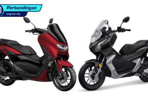 Honda ADV 150 vs Yamaha NMax 155 Connected/ABS - mana paling best?