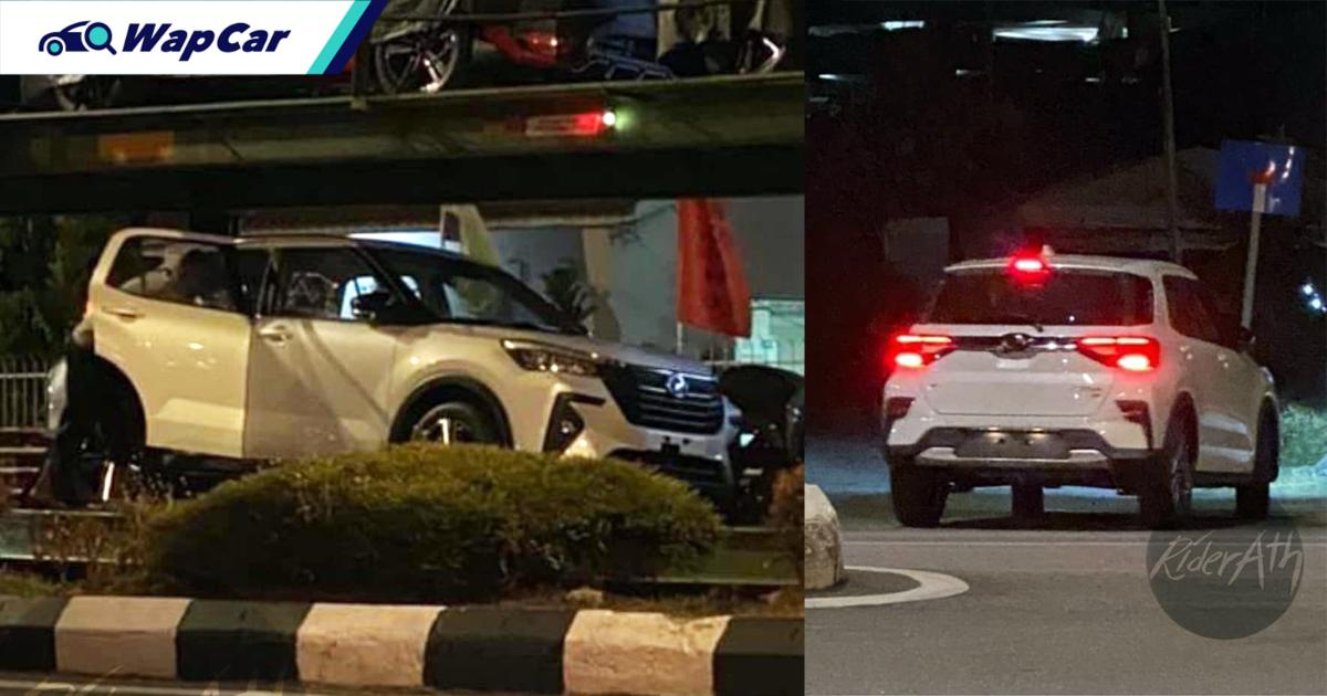 Spied: First look at undisguised Perodua Ativa (D55L)! 01