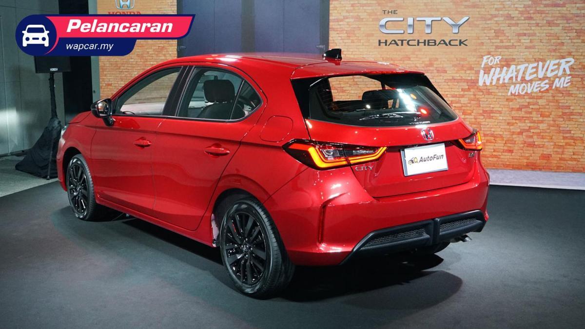 honda city hatchback 2021 dilancarkan! 1.0 turbo, 122 ps