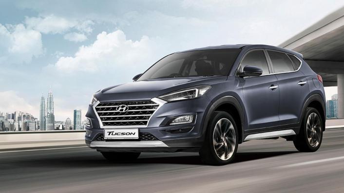 Hyundai Tucson (2018) Exterior 001