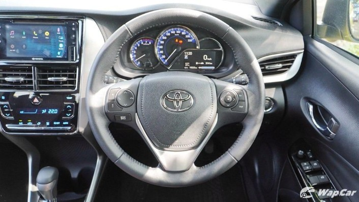 2019 Toyota Yaris 1.5G Interior 006