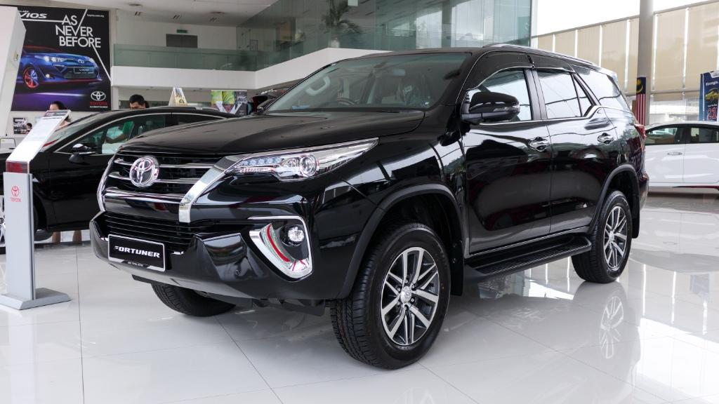 2018 Toyota Fortuner 2.7 SRZ AT 4x4 Exterior 001