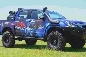 "This Isuzu D-Max ""Blue Monster"" will take on Borneo Safari!"