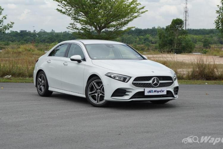 Ratings: Mercedes-Benz A250 AMG Line sedan - Performs as good as it looks