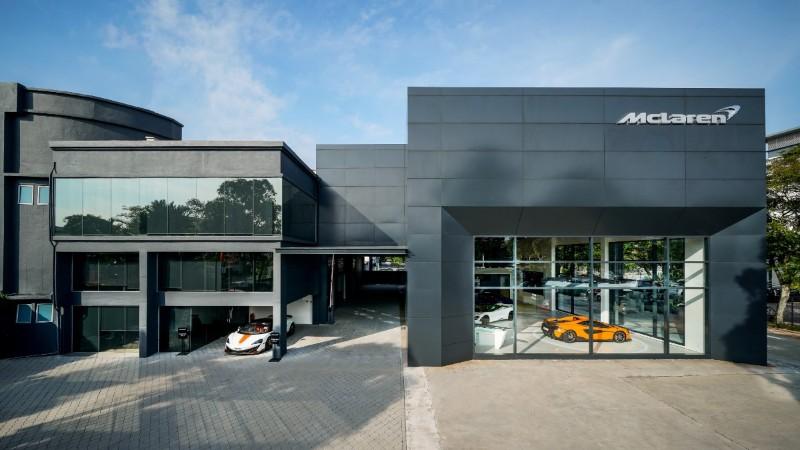 McLaren Glenmarie showroom exterior
