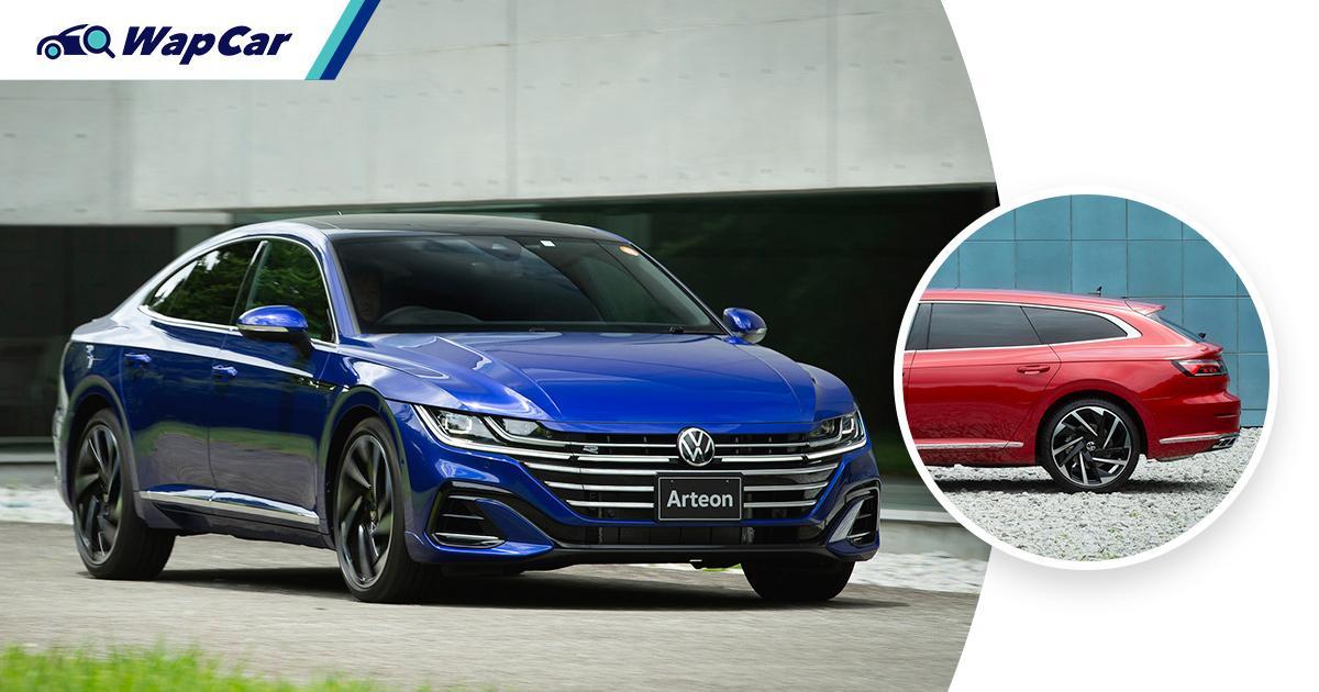 Before Malaysia, Japan launches facelifted 2021 VW Arteon - 272 PS/350 Nm, Harman Kardon audio 01