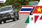 Toyota Hilux所向披靡,无可取代?非也,这些国家就不怎么喜欢Hilux