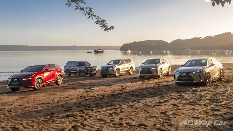 Lexus has sold over 5 million luxury SUVs and crossovers to date 02