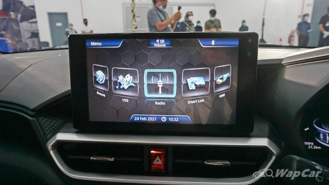 2021 Perodua Ativa 1.0L Turbo AV Interior 026