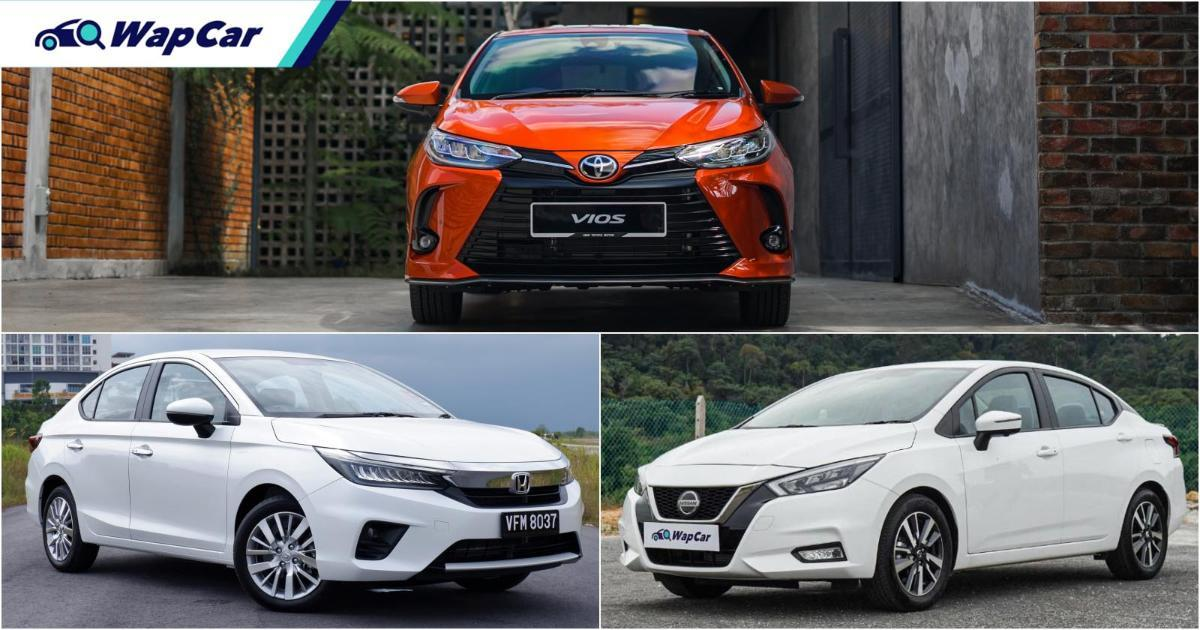 Honda City vs Nissan Almera vs Toyota Vios – sedan segmen B mana paling jimat minyak? 01