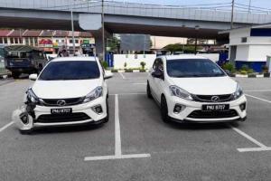 Polis giat buru suspek Perodua Myvi klon!