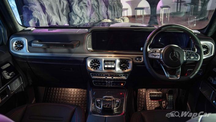 2020 Mercededs-Benz G-Class 350 d Interior 009
