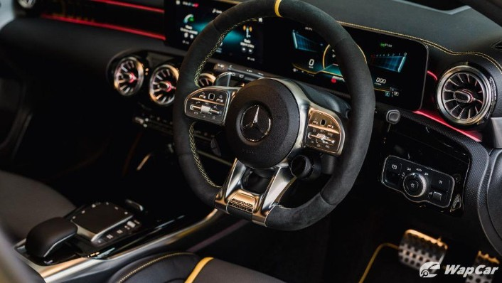 2020 Mercedes-Benz AMG A45 S Interior 005